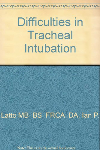 9780702021169: Difficulties in Tracheal Intubation, 2e