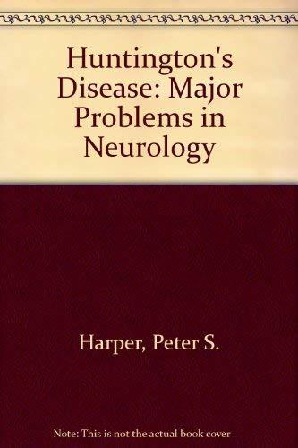 Huntington's Disease. Second Edition.: Harper, Peter [Ed]