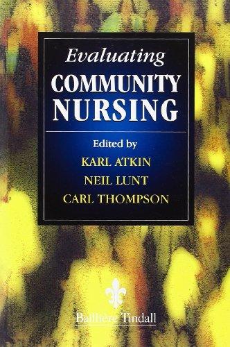 9780702023248: Evaluating Change in Community Nursing, 1e
