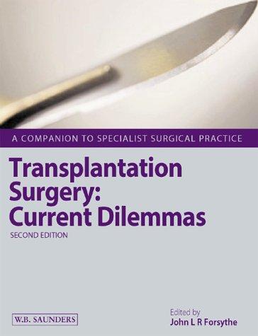 9780702025884: Transplantation Surgery