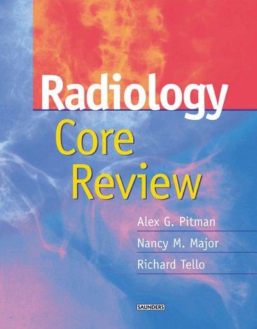 9780702026195: Radiology Core Review, 1e