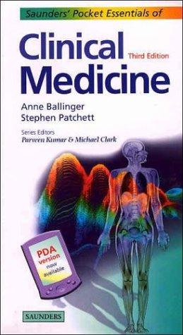 9780702026454: Saunders' Pocket Essentials of Clinical Medicine, 3e
