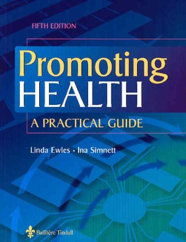 9780702026638: Promoting Health: A Practical Guide, 5e