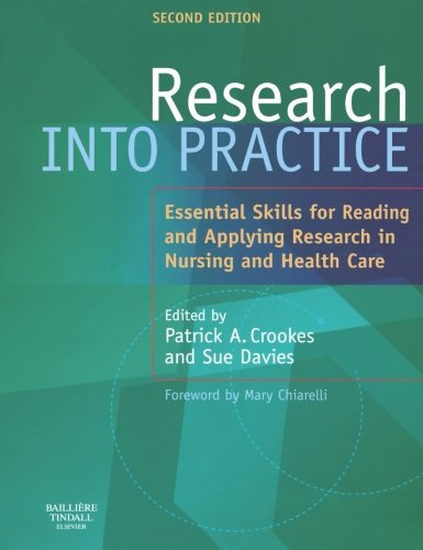 Research into Practice, 2e (9780702026867) by Patrick A. Crookes; Sue Davies