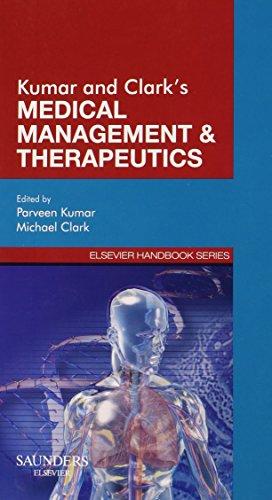 9780702027659: Kumar & Clark's Medical Management and Therapeutics, 1e (Elsevier Handbook Series)