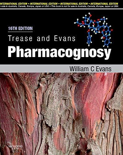 9780702029349: Trease and Evans Pharmacognosy