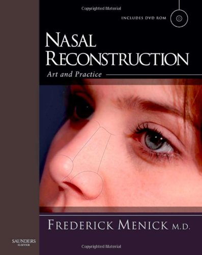 9780702030086: Nasal Reconstruction: Art and Practice, 1e