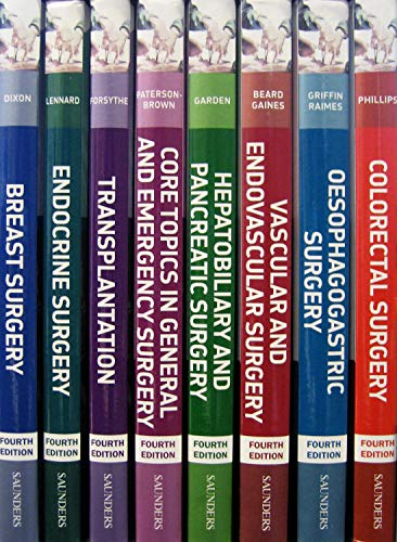 9780702030192: Companion to Specialist Surgical Practice Print & enhanced E-Book Package: 8 Volume Set, 4e
