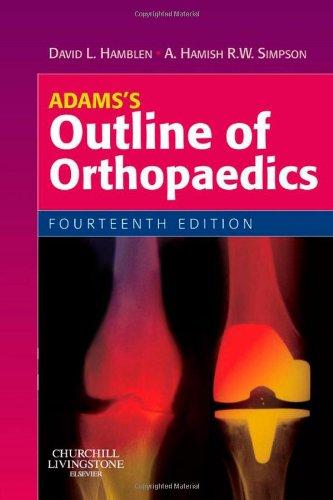 9780702030611: Adams's Outline of Orthopaedics