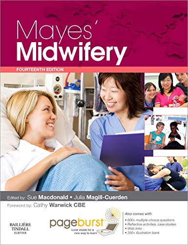 9780702031052: Mayes' Midwifery: A Textbook for Midwives Pageburst Package: with Pageburst online access, 14e