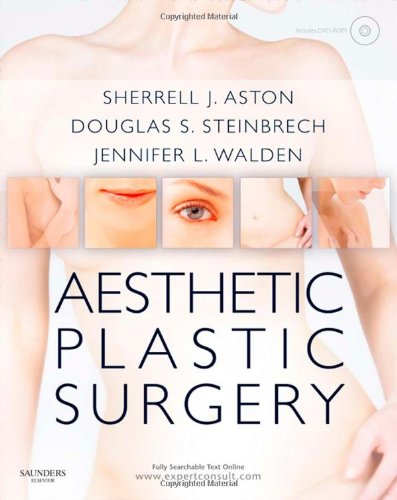 9780702031687: Aesthetic Plastic Surgery with DVD: Expert Consult: Online and Print, 1e