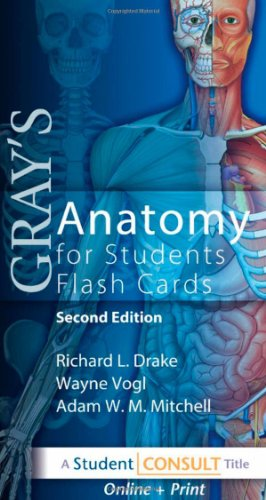 Gray's Anatomy for Students Flash Cards: with STUDENT CONSULT Online Access, 2e (0702031720) by Richard L. Drake; A. Wayne Vogl; Adam W. M. Mitchell