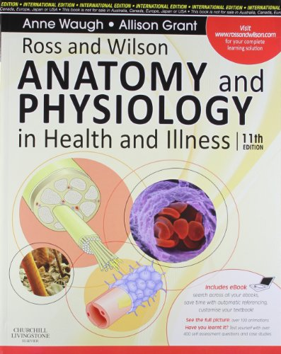 9780702032288: Ross and Wilson Anatomy and Physiology in Health and Illness, 11th Ed