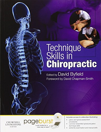 9780702034244: Technique Skills in Chiropractic: with Pageburst access, 1e