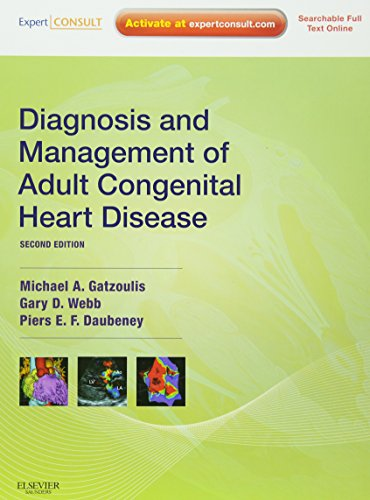 9780702034268: Diagnosis and Management of Adult Congenital Heart Disease: Expert Consult - Online and Print, 2e (Expert Consult Title: Online + Print)
