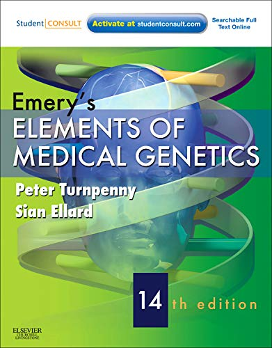 9780702040436: Emery's Elements of Medical Genetics: With STUDENT CONSULT Online Access, 14e (Turnpenny, Emery's Elements of Medical Genetics)