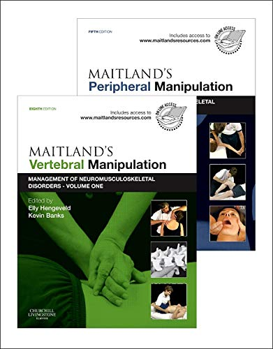9780702040689: Maitland's Vertebral Manipulation, Volume 1, 8e and Maitland's Peripheral Manipulation, Volume 2, 5e (2-Volume Set): Management of Musculoskeletal Disorders - Volumes 1 & 2, 1e