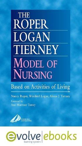 9780702041075: The Roper-Logan-Tierney Model of Nursing: Based on Activities of Living