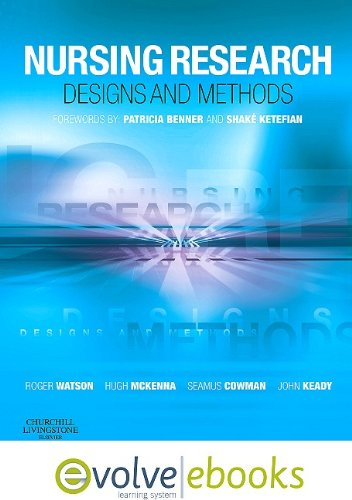 9780702041105: Nursing Research: Designs and Methods Text and Evolve eBooks Package, 1e
