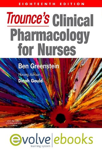 9780702041358: Trounce's Clinical Pharmacology for Nurses