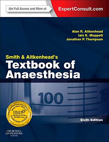 9780702041921: Smith and Aitkenhead's Textbook of Anaesthesia: Expert Consult - Online & Print, 6e