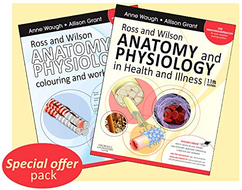 9780702044298: Ross & Wilson Anatomy and Physiology in Health and Illness - Text, Colouring Book and Workbook Package, 11e