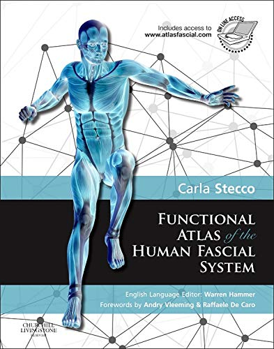 9780702044304: Functional Atlas of the Human Fascial System, 1e
