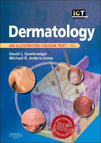 9780702044496: Dermatology: An Illustrated Colour Text, 5e