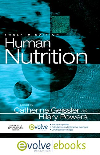 9780702044632: Human Nutrition: with Pageburst online access, 12e