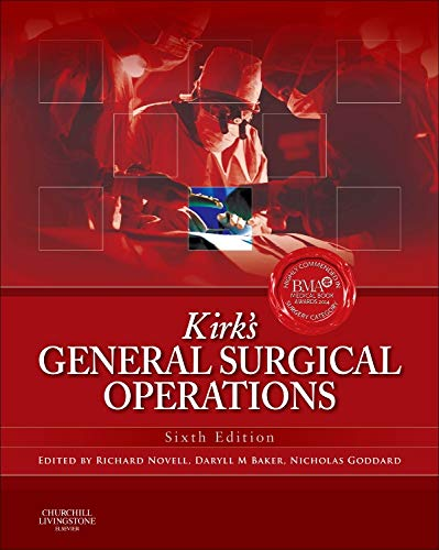 9780702044816: Kirk's General Surgical Operations, 6e