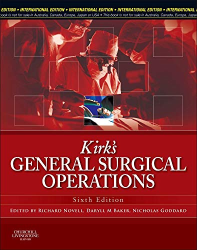 9780702044823: Kirk's General Surgical Operations
