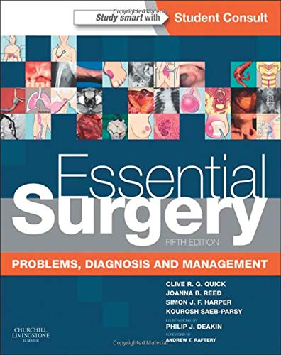9780702046742: Essential Surgery: Problems, Diagnosis and Management With STUDENT CONSULT Online Access, 5e (Burkitt, Essential Surgery)