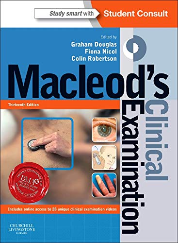 9780702047282: Macleod's Clinical Examination: With STUDENT CONSULT Online Access, 13e