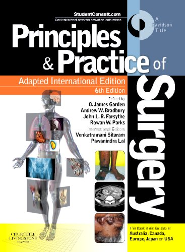 9780702049453: Principles and Practice of Surgery, Adapted International Edition: With Student Consult Online access