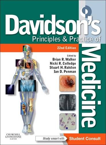 9780702050350: Davidson's Principles and Practice of Medicine: With STUDENT CONSULT Online Access, 22e