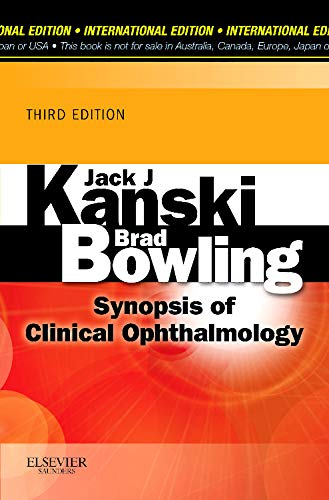 9780702050367: Synopsis of Clinical Ophthalmology