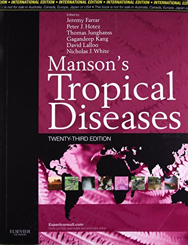 9780702051029: Manson's Tropical Diseases