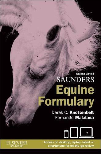 9780702051098: Saunders Equine Formulary, 2e