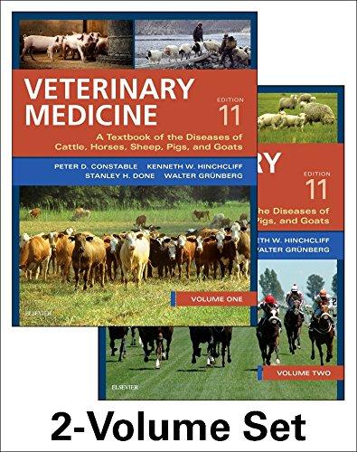 Veterinary Medicine 2 Vol Set 11Ed (Hb 2017)