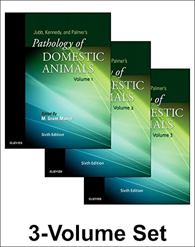 9780702053221: Jubb, Kennedy & Palmer's Pathology of Domestic Animals: 3-Volume Set, 6e