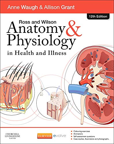 9780702053252 Ross And Wilson Anatomy And Physiology In Health And