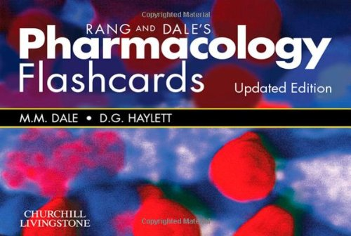 9780702059575: Rang & Dale's Pharmacology Flash Cards Updated Edition, 1e