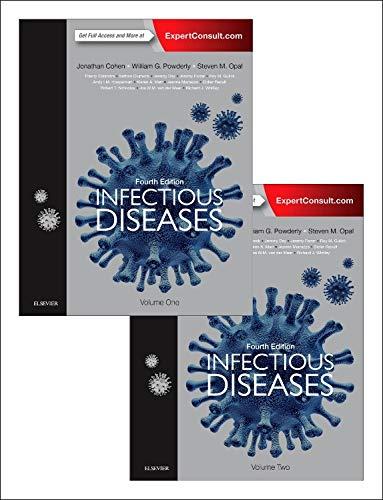 Infectious Diseases, 2-Volume Set, 4e: Jonathan Cohen M