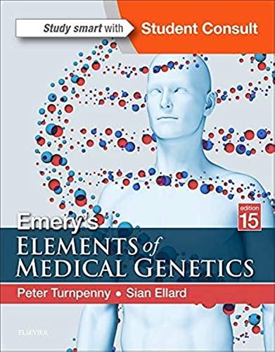 9780702066856: Emery's Elements of Medical Genetics, 15e