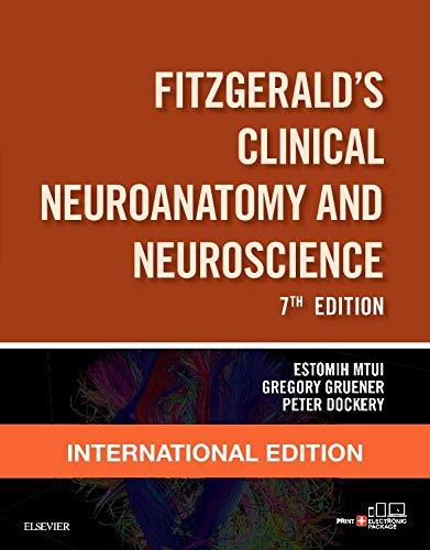 9780702067273: Fitzgerald's Clinical Neuroanatomy and Neuroscience