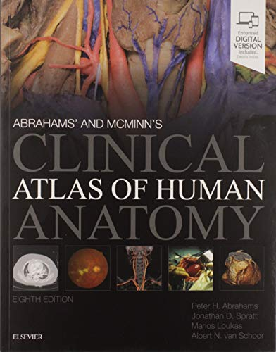 9780702073328: Abrahams' and McMinn's Clinical Atlas of Human Anatomy E-Book 8th Edition