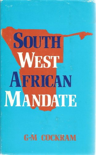 9780702107030: SOUTH WEST AFRICAN MANDATE