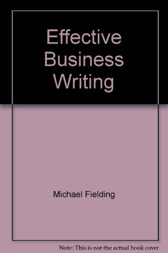 9780702122668: Effective Business Writing