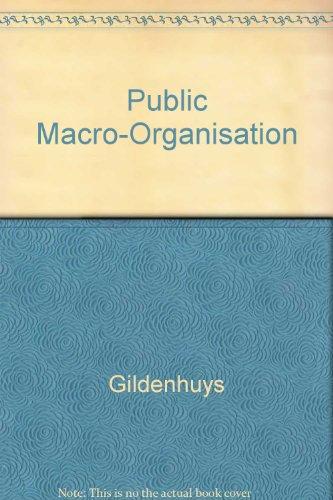 9780702125416: Public Macro-Organisation