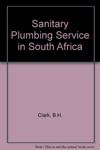 9780702127588: Sanitary Plumbing Service in South Africa